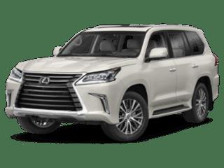 2019 Lexus LX angled