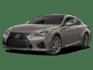 2019 Lexus RC F angled