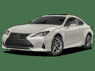 2019 Lexus RC angled
