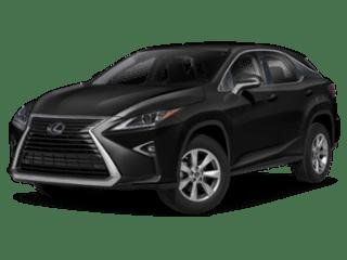 2019 Lexus RX angled