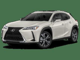 2019 Lexus UX angled