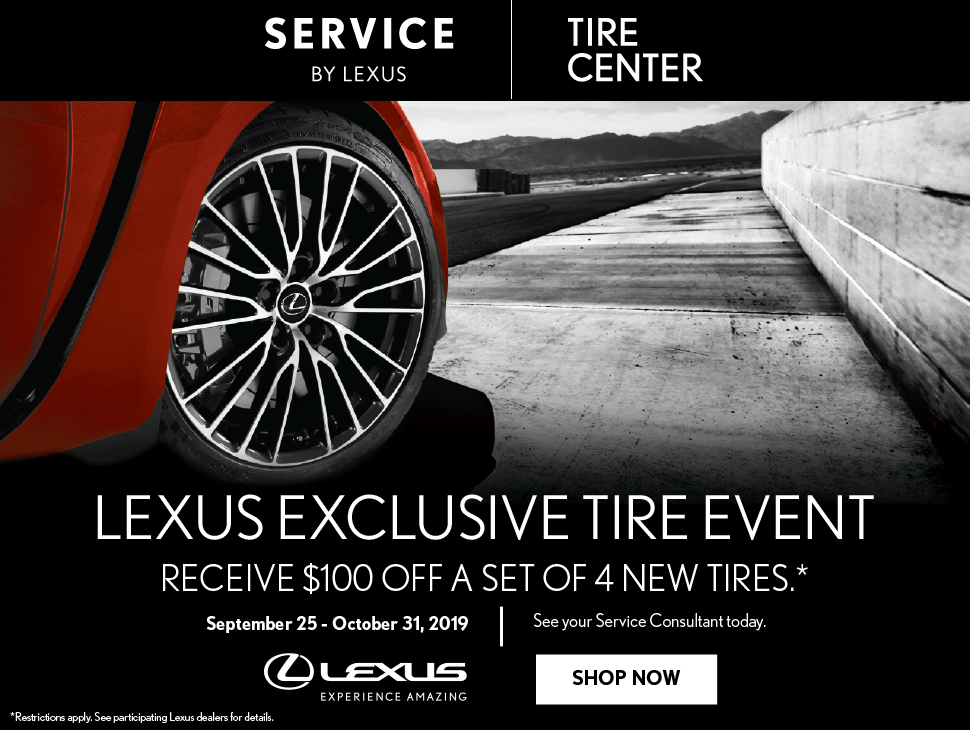 Lexus Tire Event