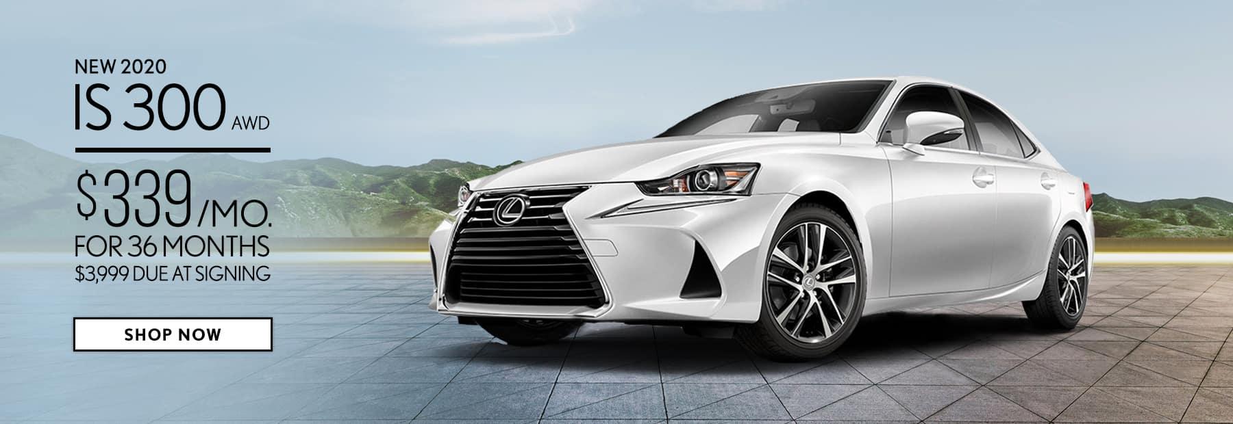 Lease a New 2020 Lexus IS 300 in Cincinnati, OH