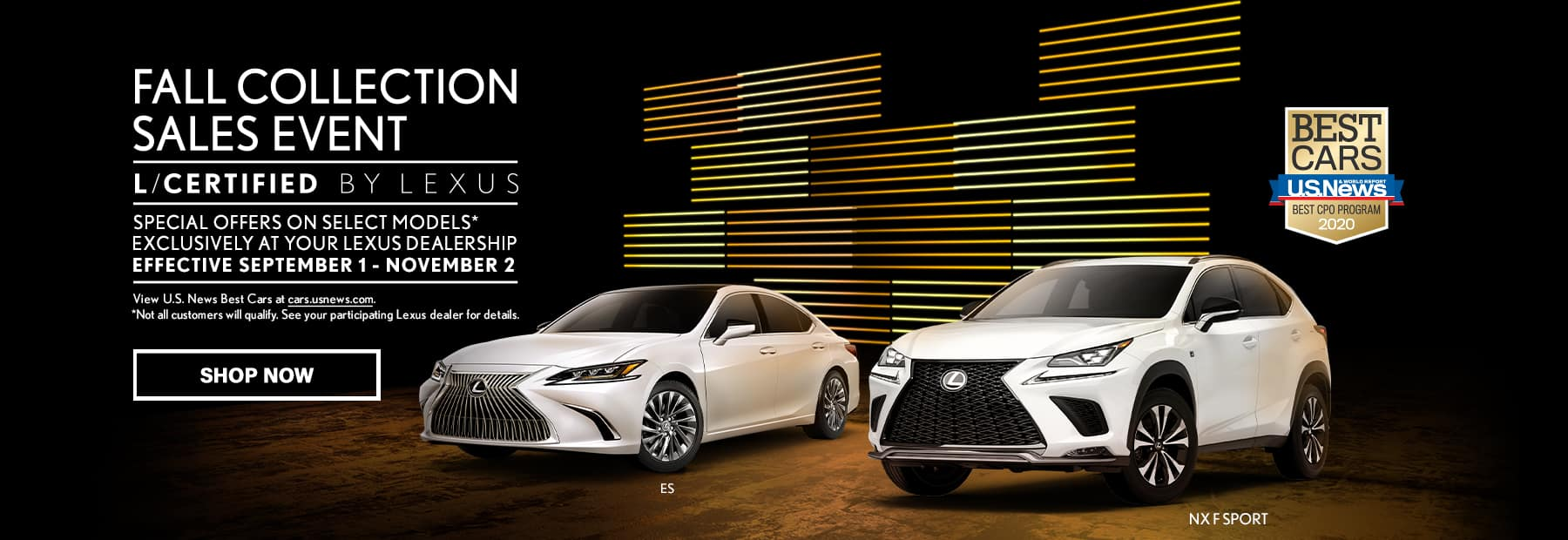 Performance Lexus Fall Collection Sales Event L/Certified