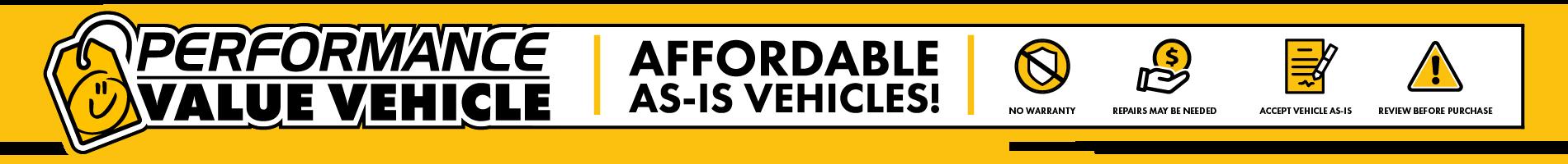 Performance Value Vehicles