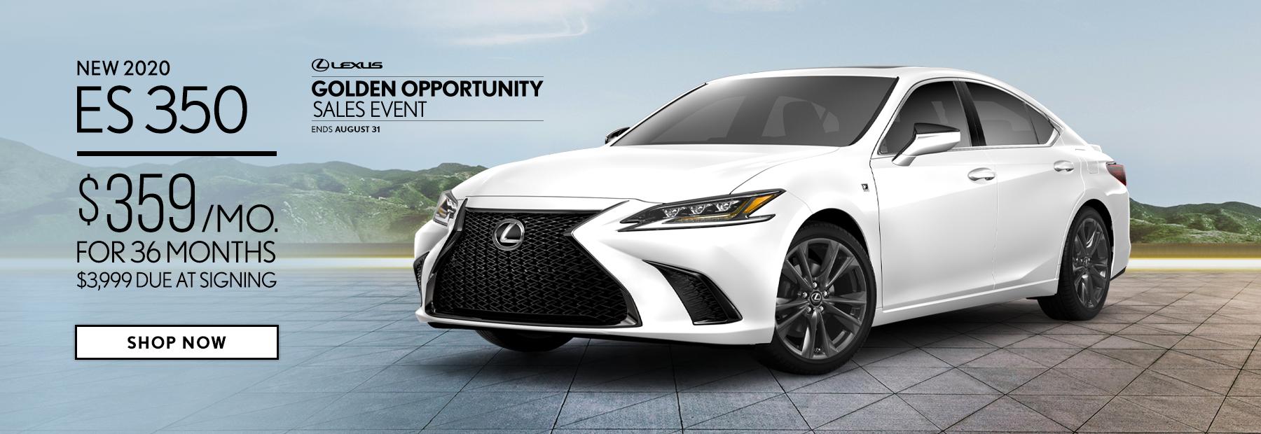 Lease a New 2020 Lexus ES 350 in Cincinnati, OH
