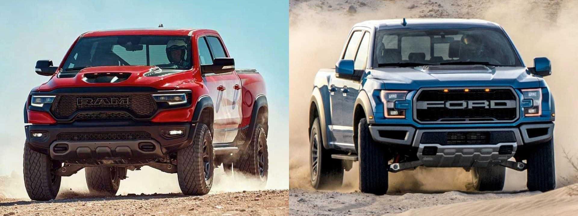 RAM TRX vs Ford Raptor