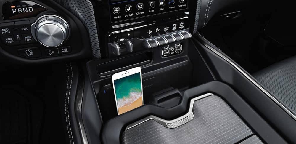 2020-Ram-1500-center-console