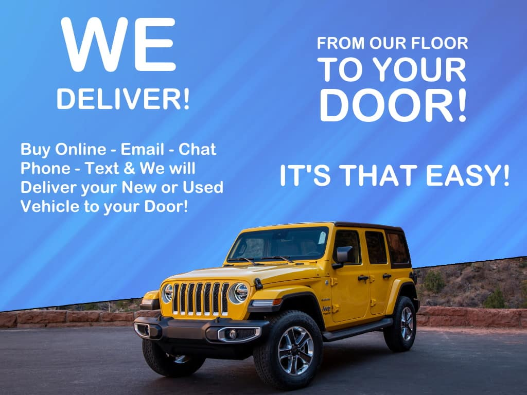 We Deliver Near You