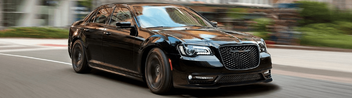 Black 2021 Chrysler 300