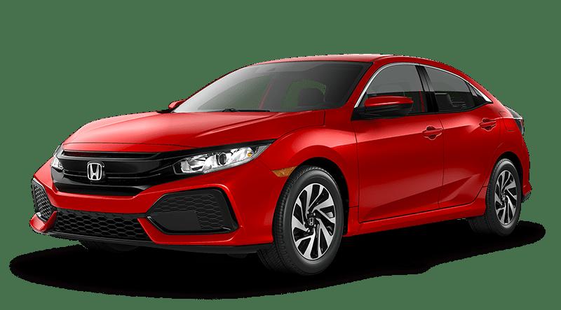 2019 Honda Civic Hatchback Red