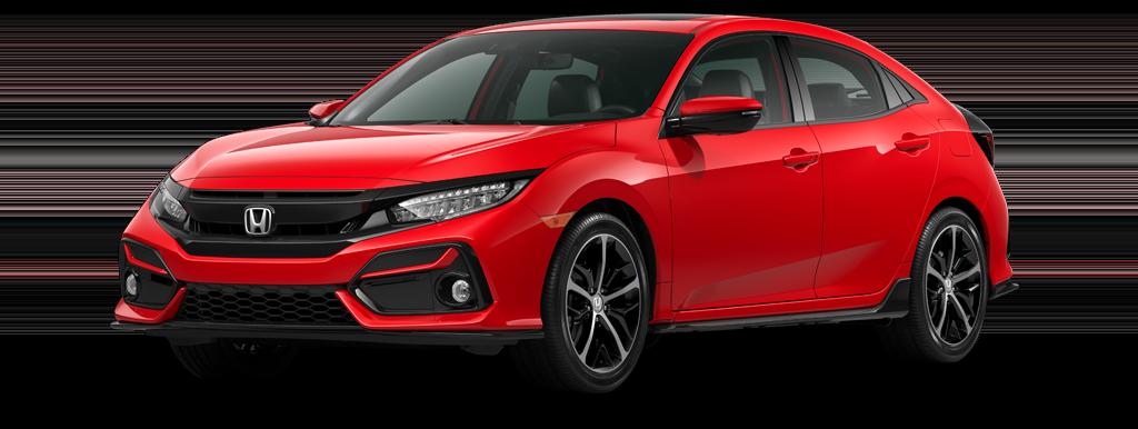 2021 Honda Civic Hatchback LX CVT