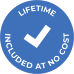 Lifetime Included at No Cost Icon