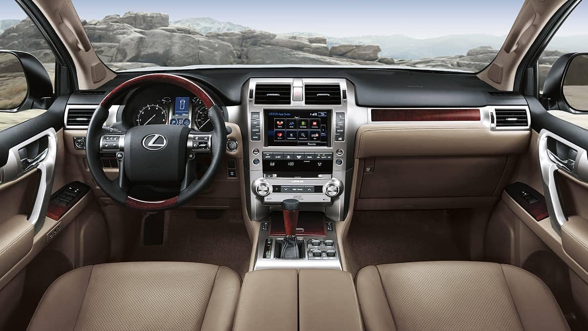 2019 Lexus GX Dash