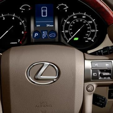 2019 Lexus GX Steering Wheel