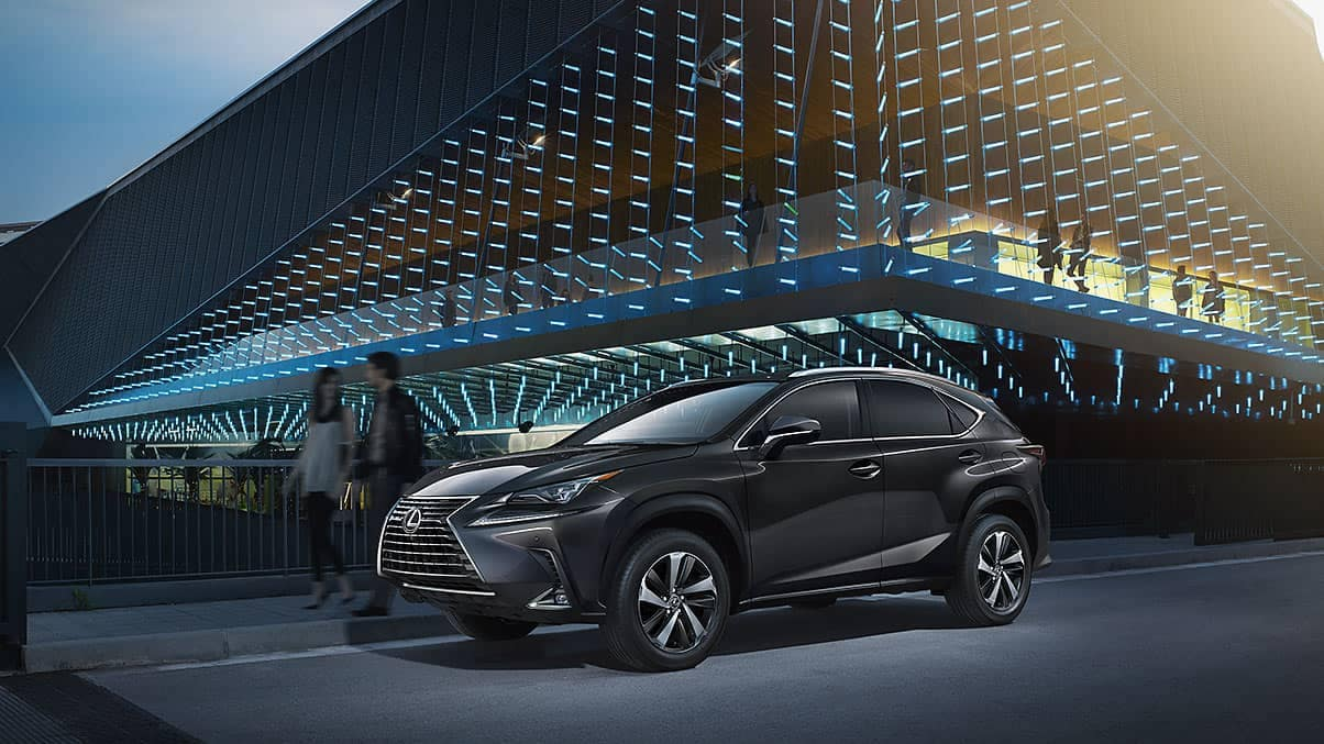 2020 Lexus NX At Night