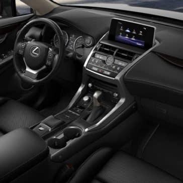 2020 Lexus NX Dash