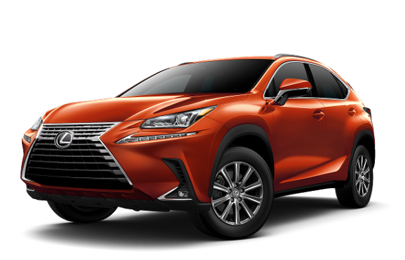 2020 Lexus NX Orange