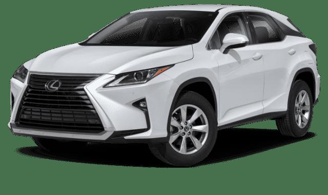 White 2019 Lexus RX 350