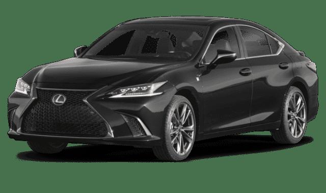 Black 2019 Lexus ES