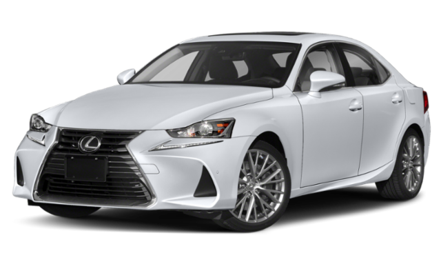 White 2019 Lexus IS