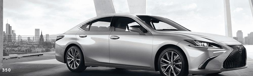 Silver Lexus ES 350