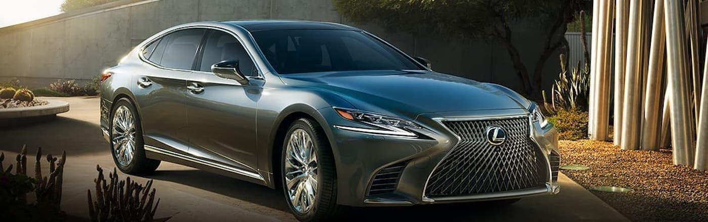Gray Lexus