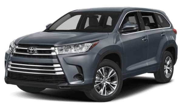 Black 2019 Toyota Highlander