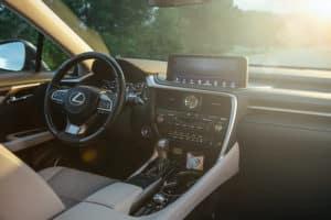 2021_Lexus_RX_interior