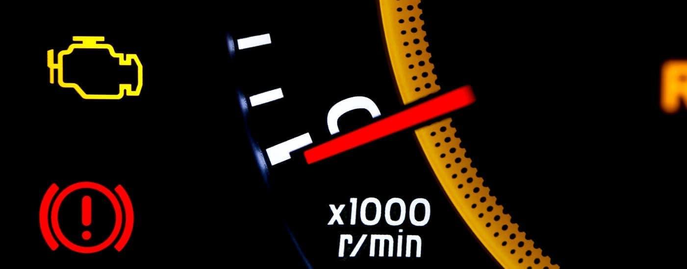 Lexus dashboard warning lights
