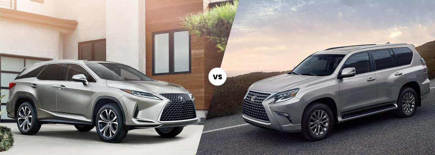 2021 Lexus RX vs. Lexus GX