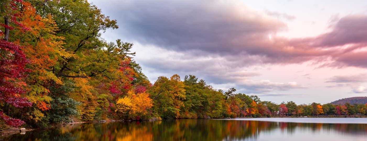 upstate new york fall foliage