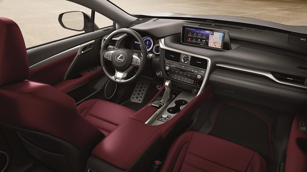 Lexus RX Interior Specs