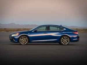 Is the Lexus ES Bigger than the IS?