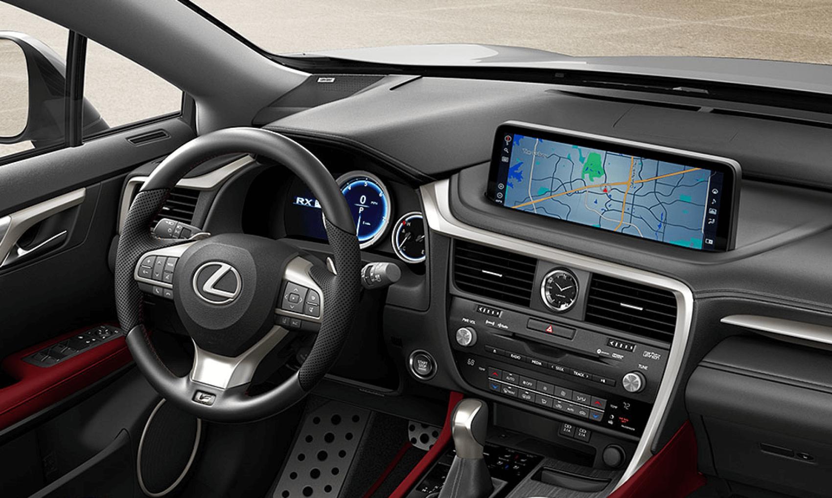 2021 Lexus RX Interior Dashboard Tech Lexus of Larchmont NY