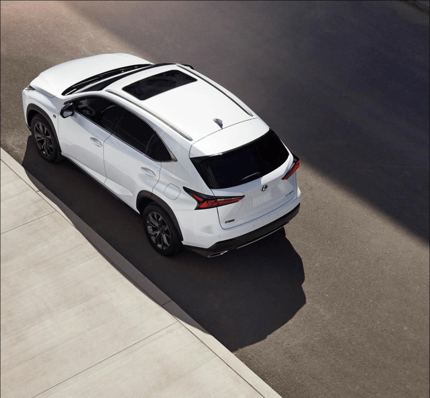 2021 Lexus NX White Lexus of Larchmont