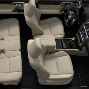 2021 Lexus GX Interior with Infotainment