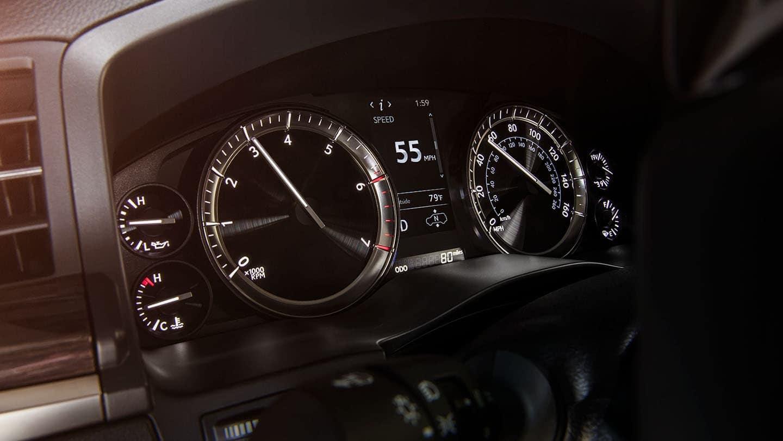 Lexus LX Dashboard