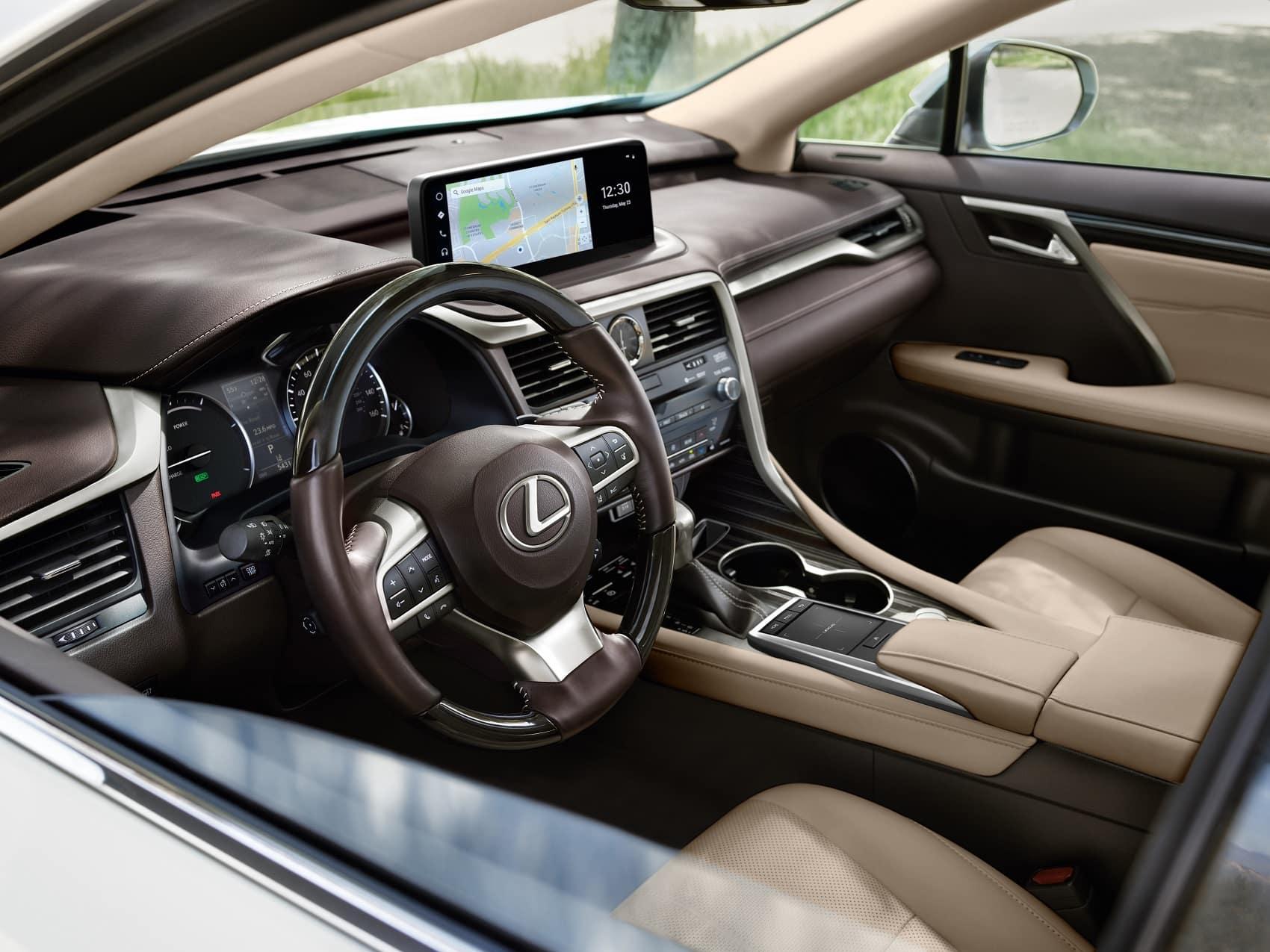 2021 Lexus UX Hybrid cabin infotainment system