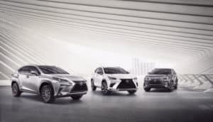 Lexus NX Trim Level Options