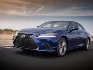 Lexus ES 350 Trim Levels
