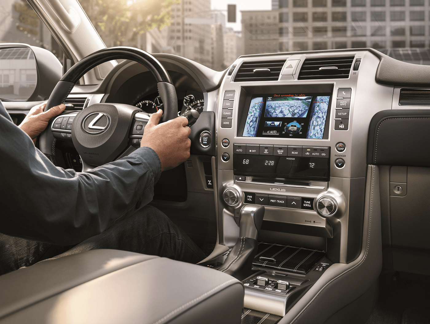 Lexus GX Infotainment