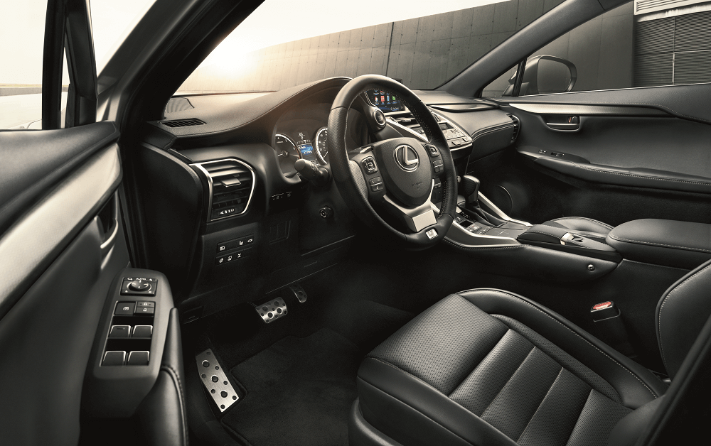 Lexus NX Interior Amenities
