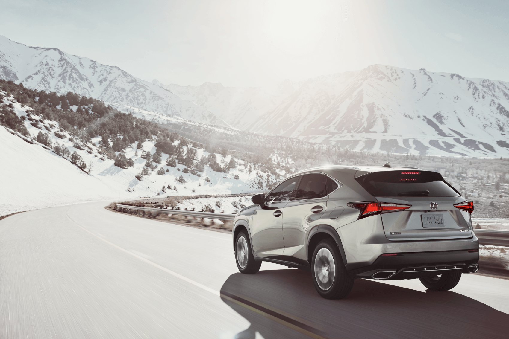 Used Lexus NX Silver Snow Mountain
