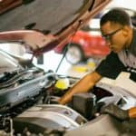 Lexus service special mechanic inspection