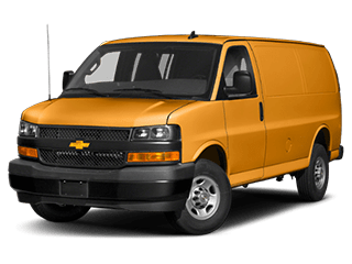 2019 Chevrolet Express cargo van model