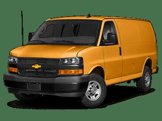 2019 Chevrolet Express cargo van model