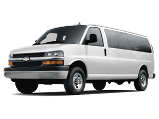 2019 Chevrolet Express passenger model