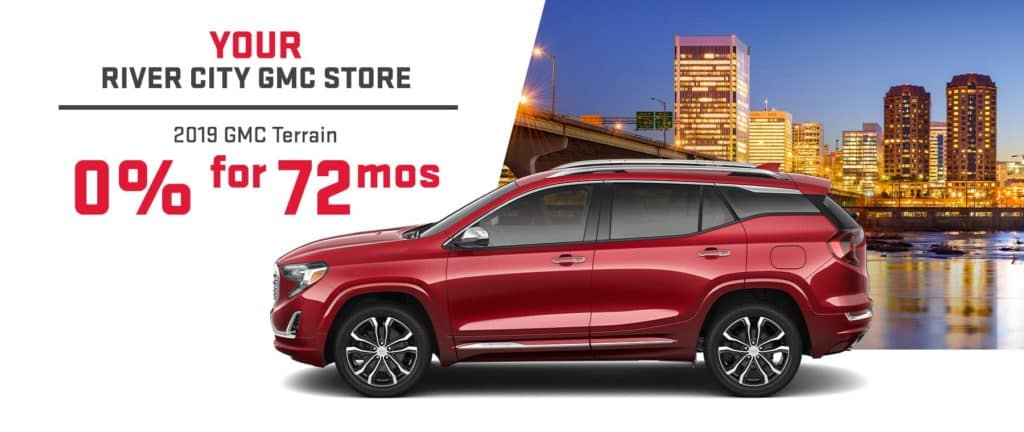 2019 GMC Terrain 0 for 72 mos