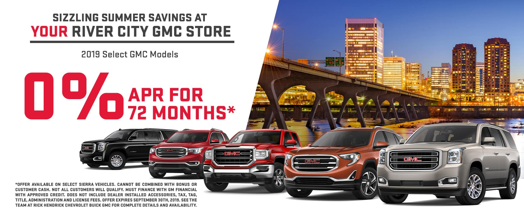 Special Financing for 2019 GMC Models